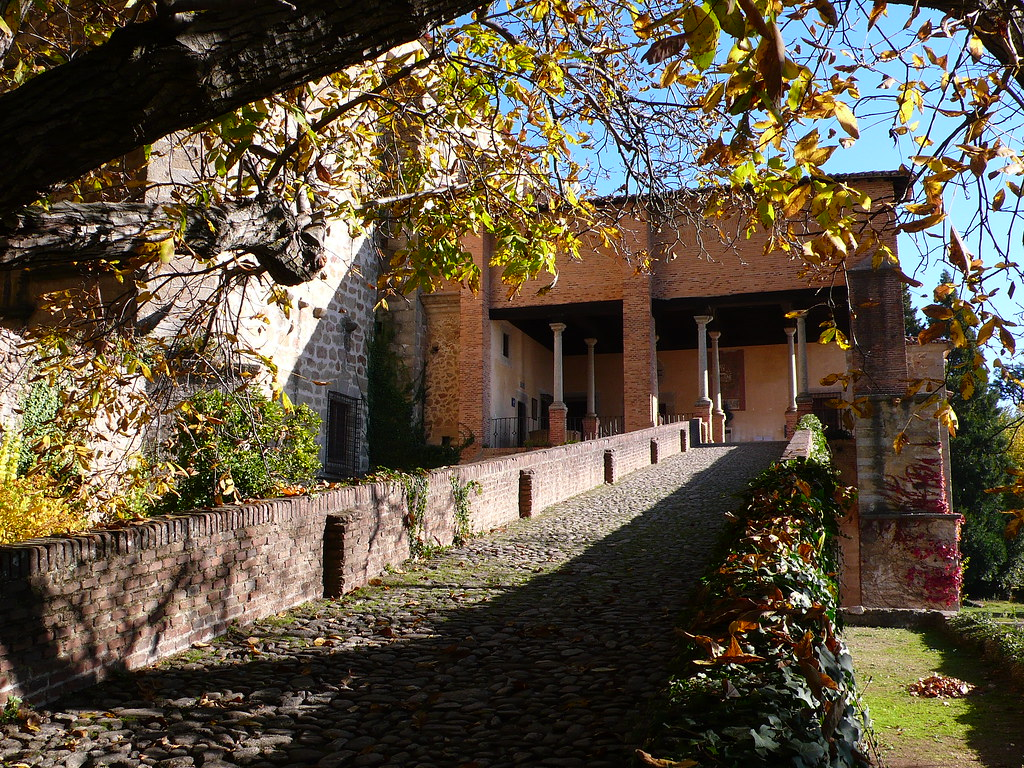 Imagen de la rampa del Monasterio de Yuste