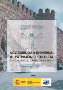 """Abre documento en PDF: """"Accesibilidad universal al patrimonio cultural. Fundamentos, criterios y pautas"""""""