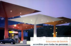 """Abre documento en PDF """"Estaciones de servicio accesibles accesibles para todas las personas"""""""