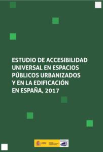 """Abre documento en PDF """"Estudio de accesibilidad espacios públicos urbanizados y la edificación en España"""""""
