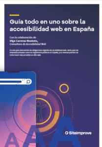 """Abre documento en PDF """"Guia todo en uno sobre la accesibilidad web en España"""""""