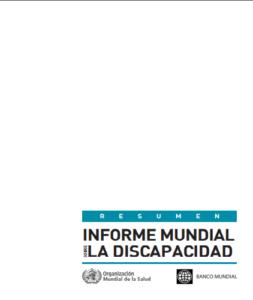 Informe mundial sobre discapacidad