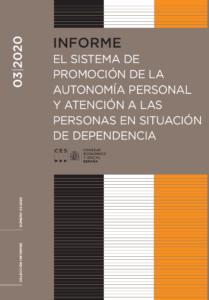 Informe CES. El Sistema de Promoción de la Autonomía Personal y atención a las personas en situación de dependencia