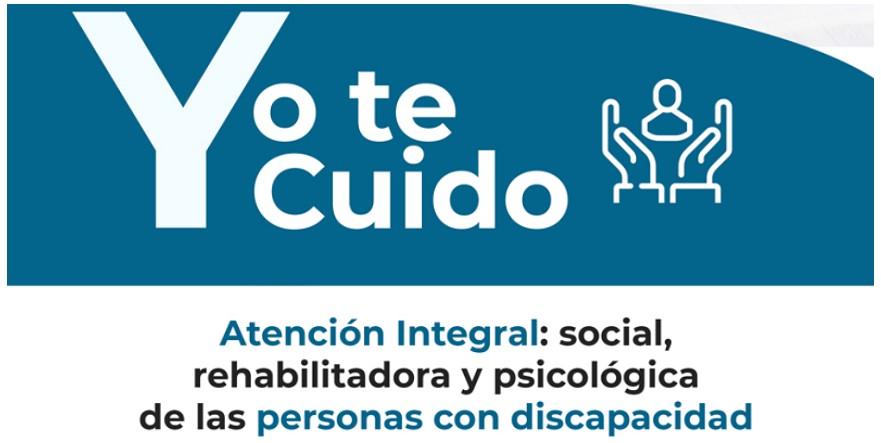 Imagen de la campaña 'Yo te cuido' de Andalucía Inclusiva Cocemfe