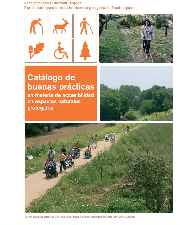 Catalogo de buenas practicas en materia de accesibilidad en espacios protegidos EUROPARC