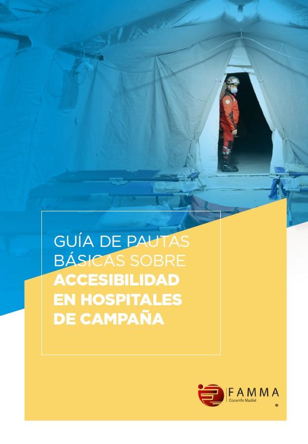 Guía de pautas básicas de accesibilidad en hospitales de campaña