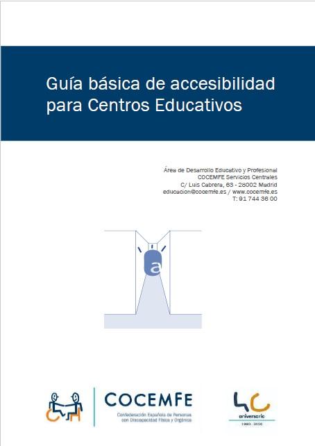 Guía básica de accesibilidad en centros educativos