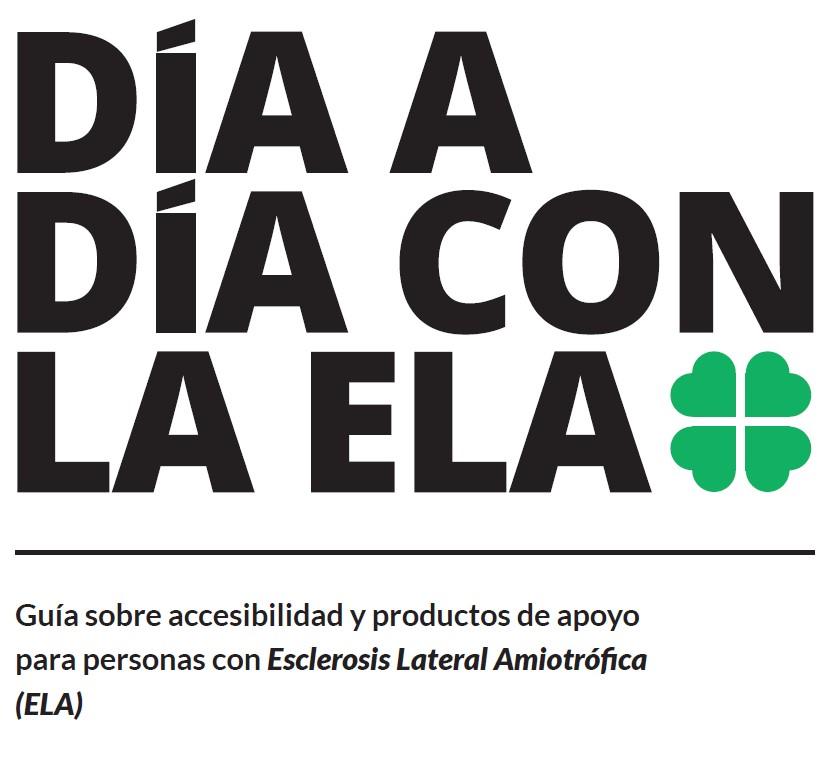 Guía sobre accesibilidad y productos de apoyo para personas con ELA