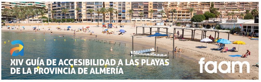 Guía de accesibilidad a las playas de Almería