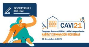 Icono del CAVI21 que enlaza con el formulario de inscripción