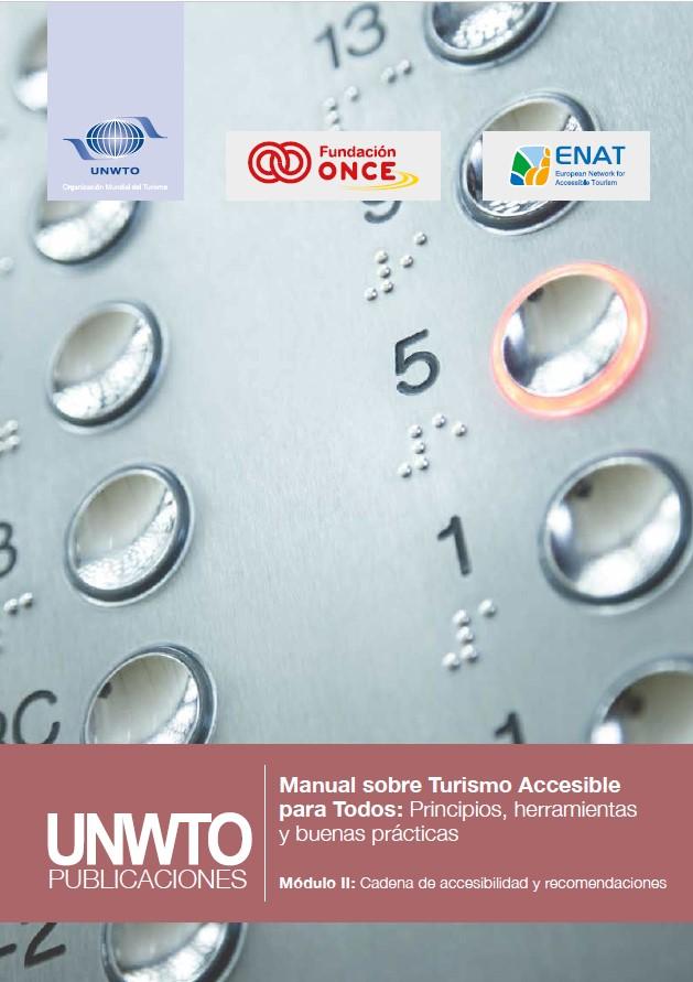 Manual Turismo Accesible OMT 2 - Cadena de accesibilidad y recomendaciones