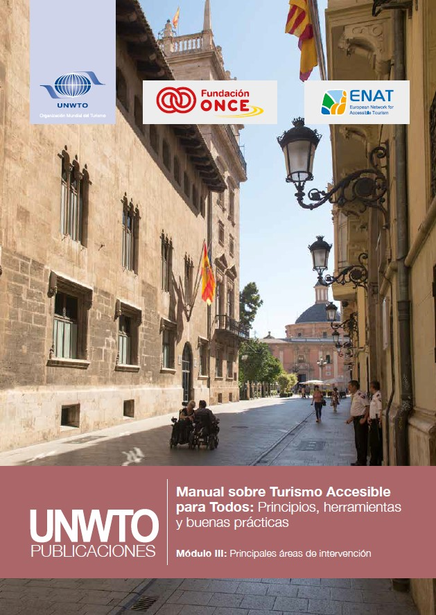 Manual Turismo Accesible OMT 3 - Principales áreas de intervención