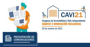 Logo del CAVI21 que enlaza con el correo para enviar las comunicaciones